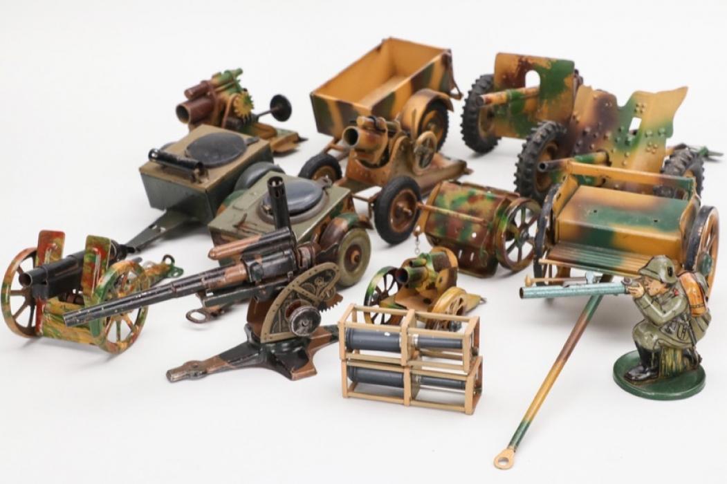 Konvolut Militärspielzeug