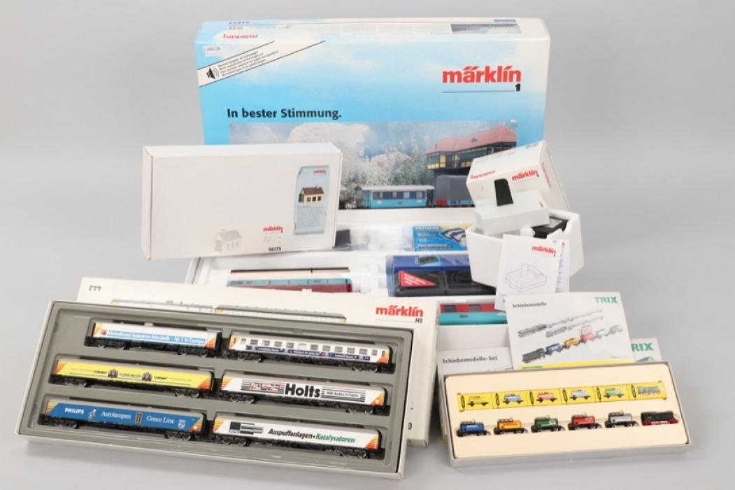 Märklin - Minitrix - Eisenbahnkonvolut