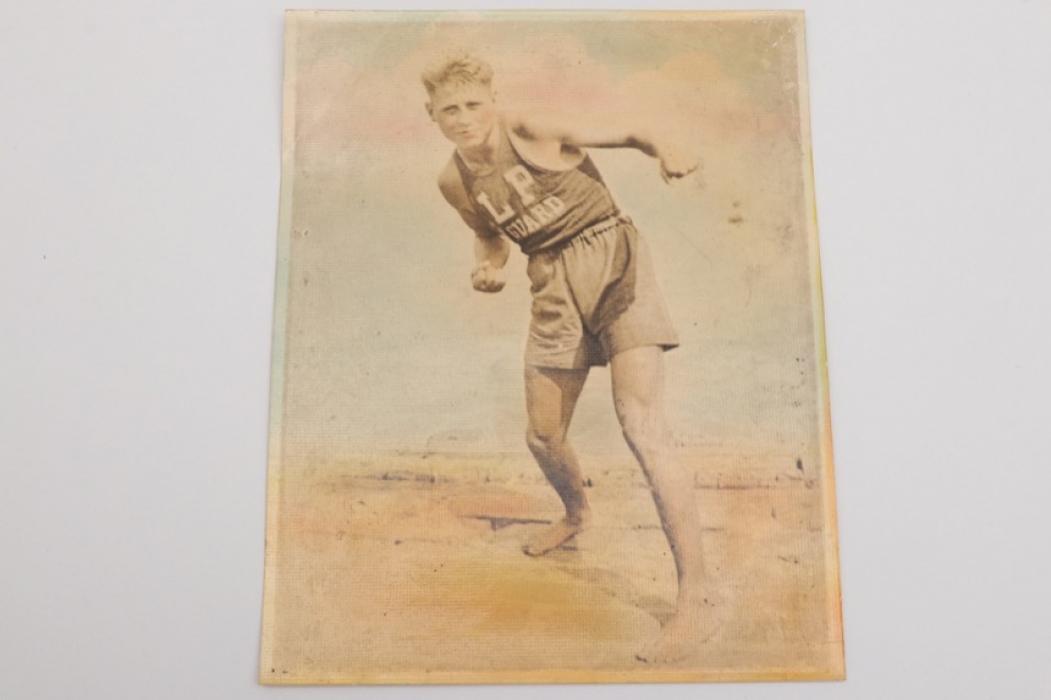 Jack Dempsey - Colored photograph