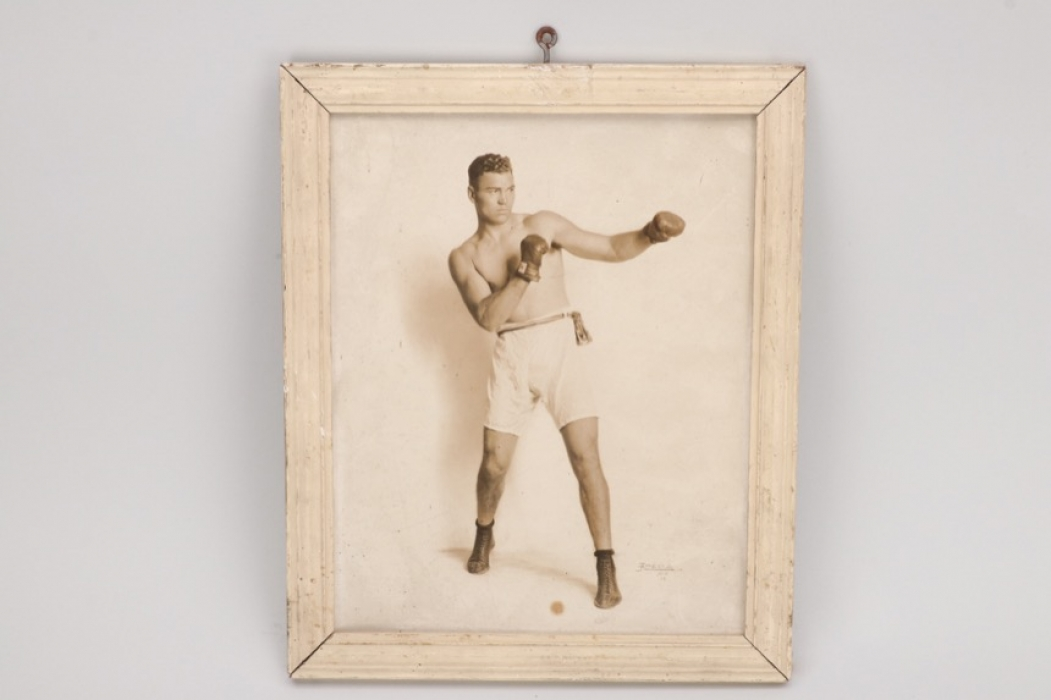 Jack Dempsey - Framed photograph of the heavyweight champion