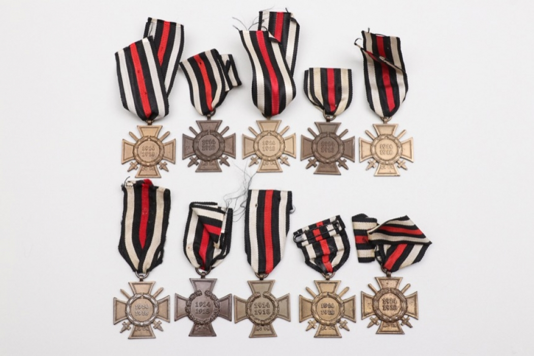 10 + Honor Crosses of WWI