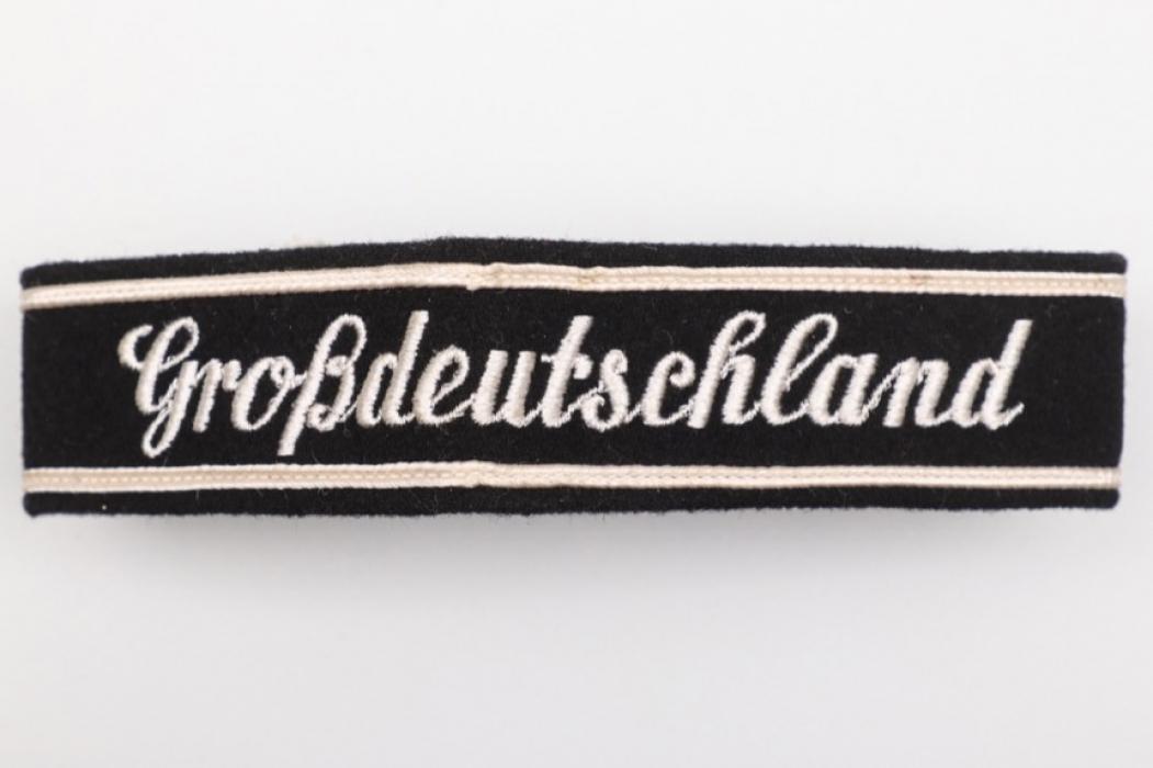 """""""Großdeutschland"""" EM/NCO cuff title - 4th pattern"""