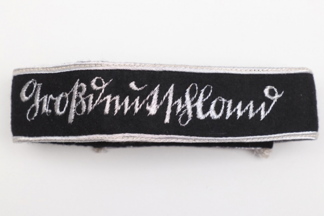 """""""Großdeutschland"""" officer's cuff title - Sütterlin script"""
