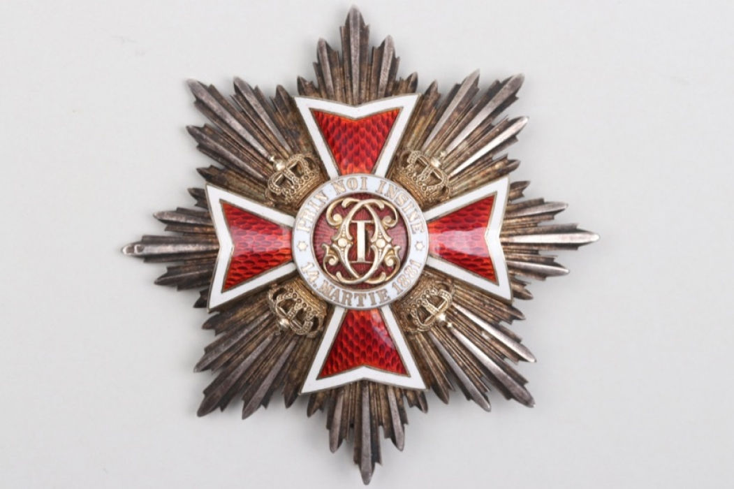 Romania - Order of the Crown, Grand Cross Breast Star