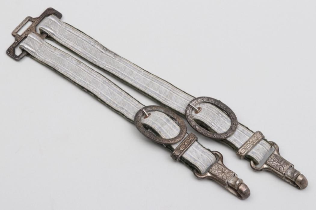 Hangers for Heer officer's dagger