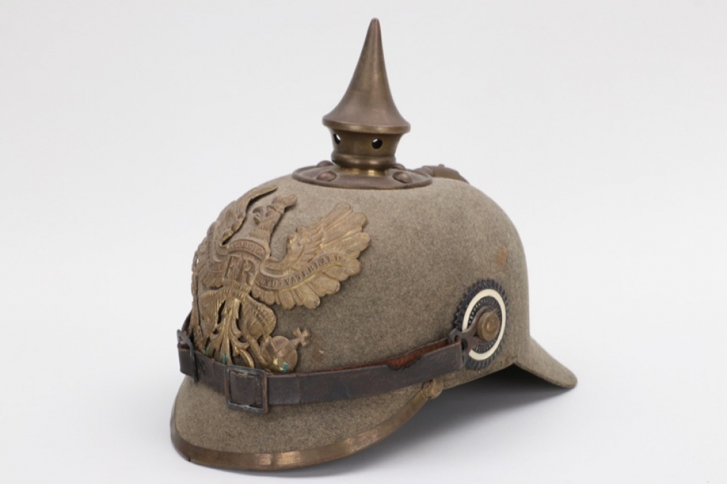 "Prussia - ""Ersatz"" infantry spike helmet - EM"