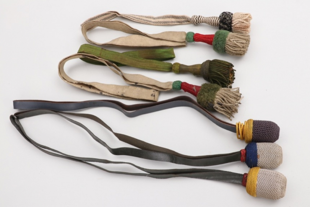 Germany - Imperial Germany / Reichswehr / Wehrmacht knots and portepees