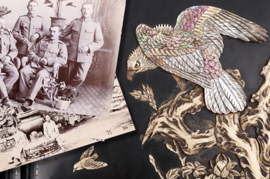 "Kaiserliche Marine / See-Bataillon ""Tsingtau"" China photo album"