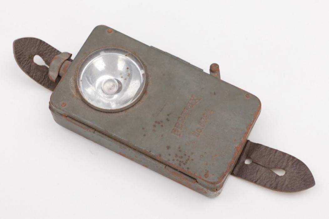 "Imperial Germany - fieldgrey flashlight ""Pertix"""