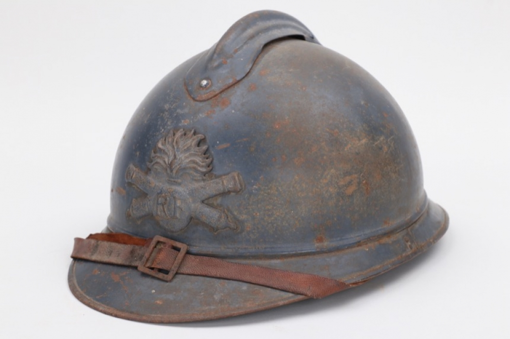 France - M1915 adrian helmet for artillery troops