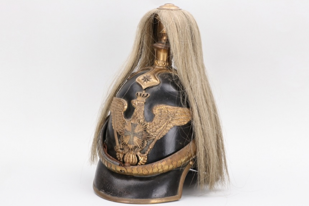 Prussia - M1848 spike helmet for a Garde reserve officer