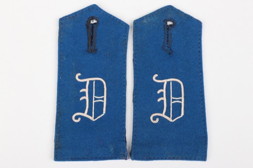 Prussia - Bezirkskommando Dortmund shoulder boards