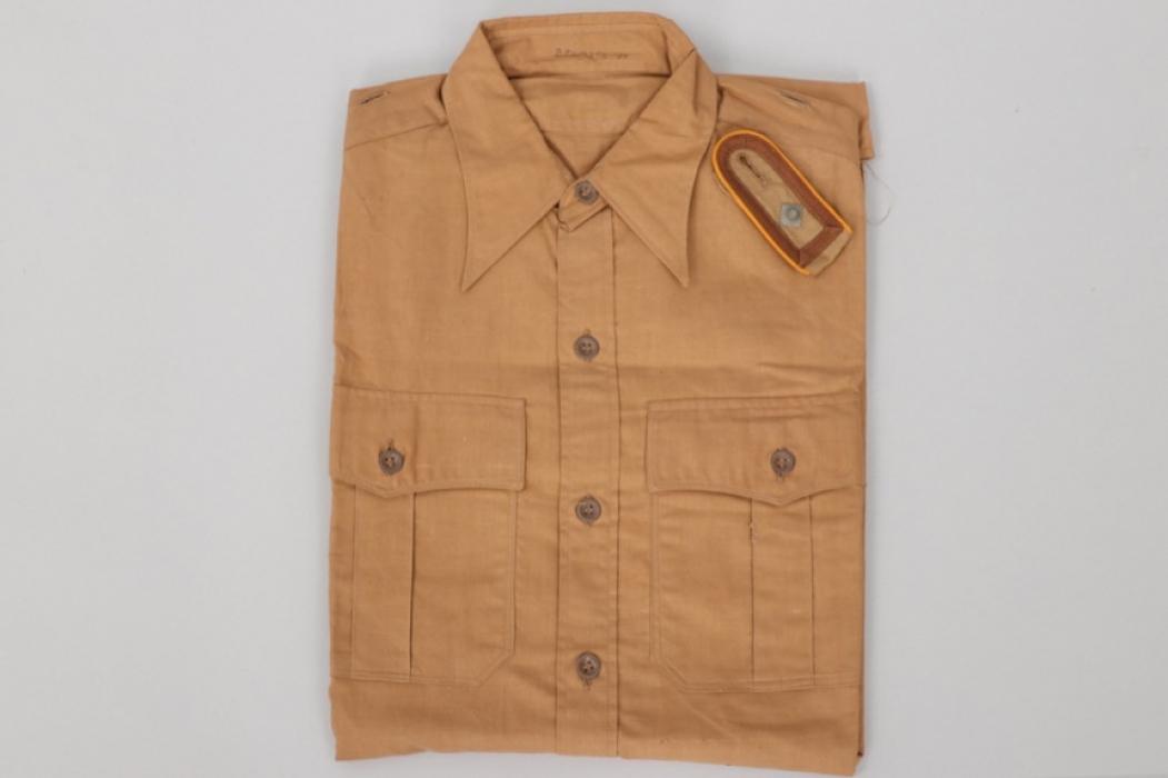 Luftwaffe tropical shirt + single shoulder board