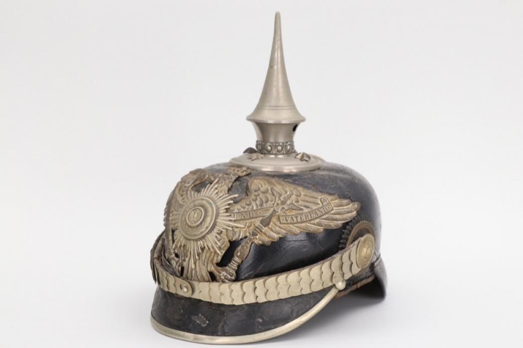 Prussia -  M1895 5. Garderegiment zu Fuß spike helmet - EM