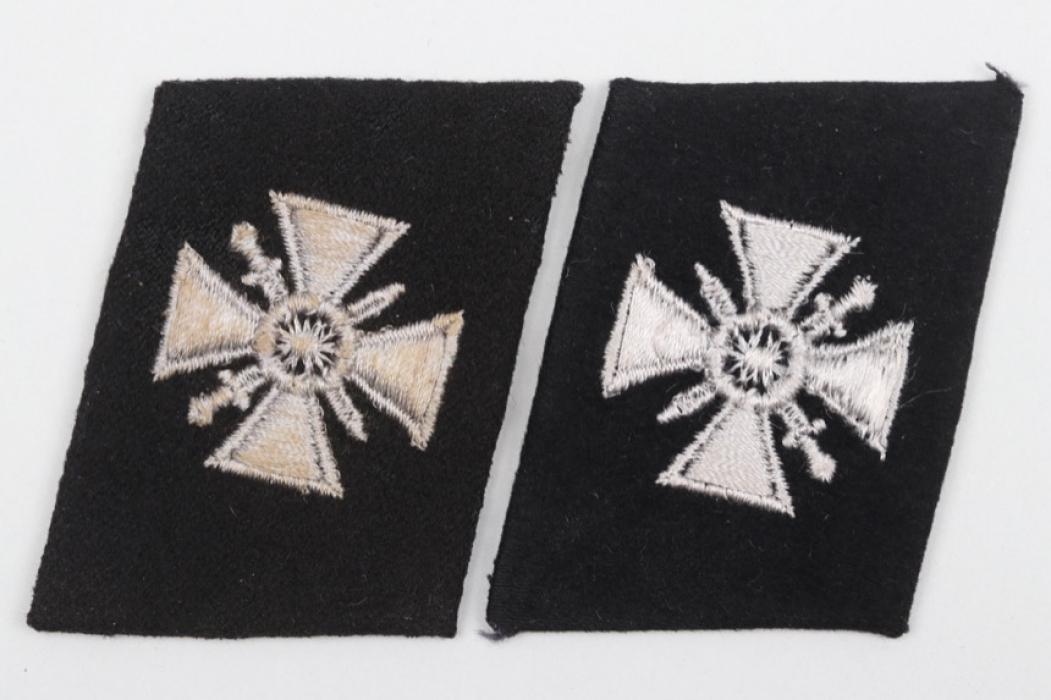 2 + Waffen-SS Russian volunteers collar tabs - EM/NCO