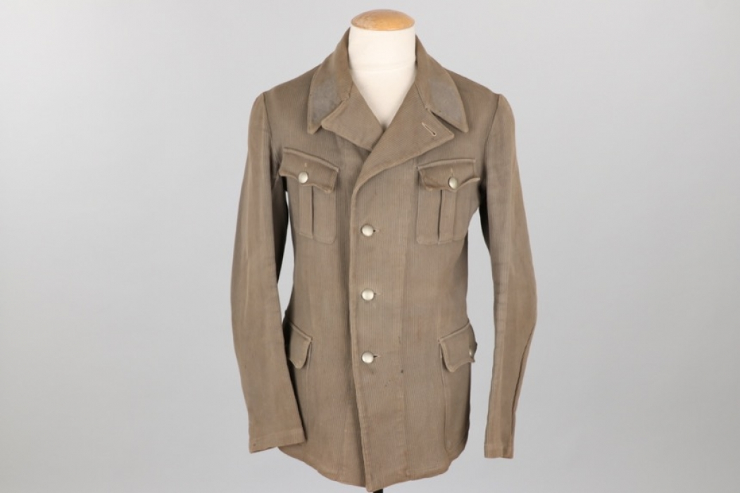 Third Reich early cord tunic