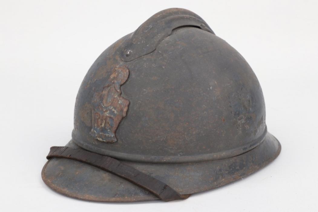 France - M1915 Adrian helmet for pioneer troops