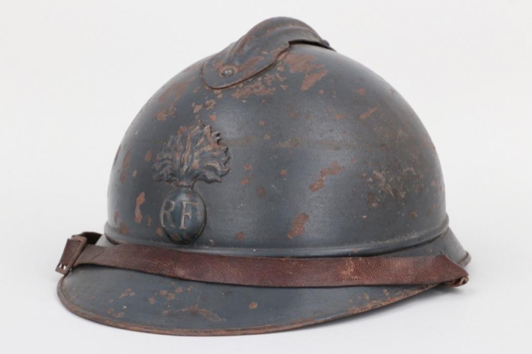 France - M1915 Adrian helmet for infantry troops