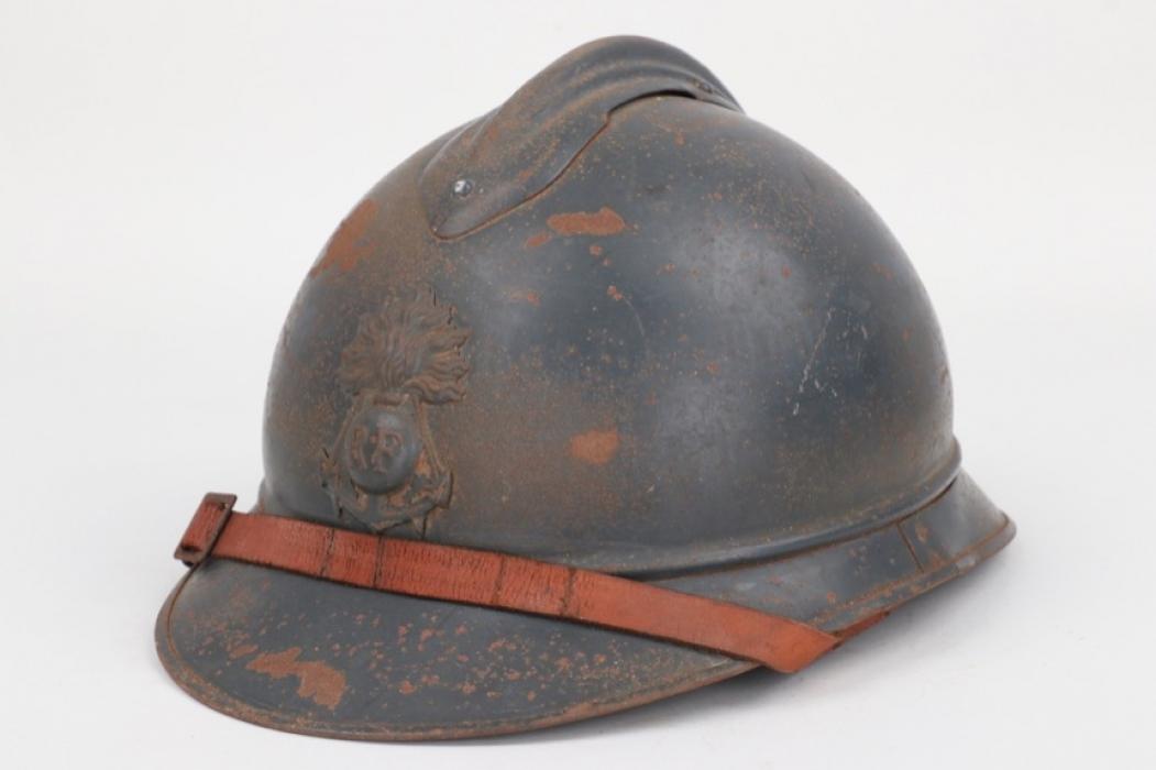 France - M1915 Adrian helmet for naval infantry troops