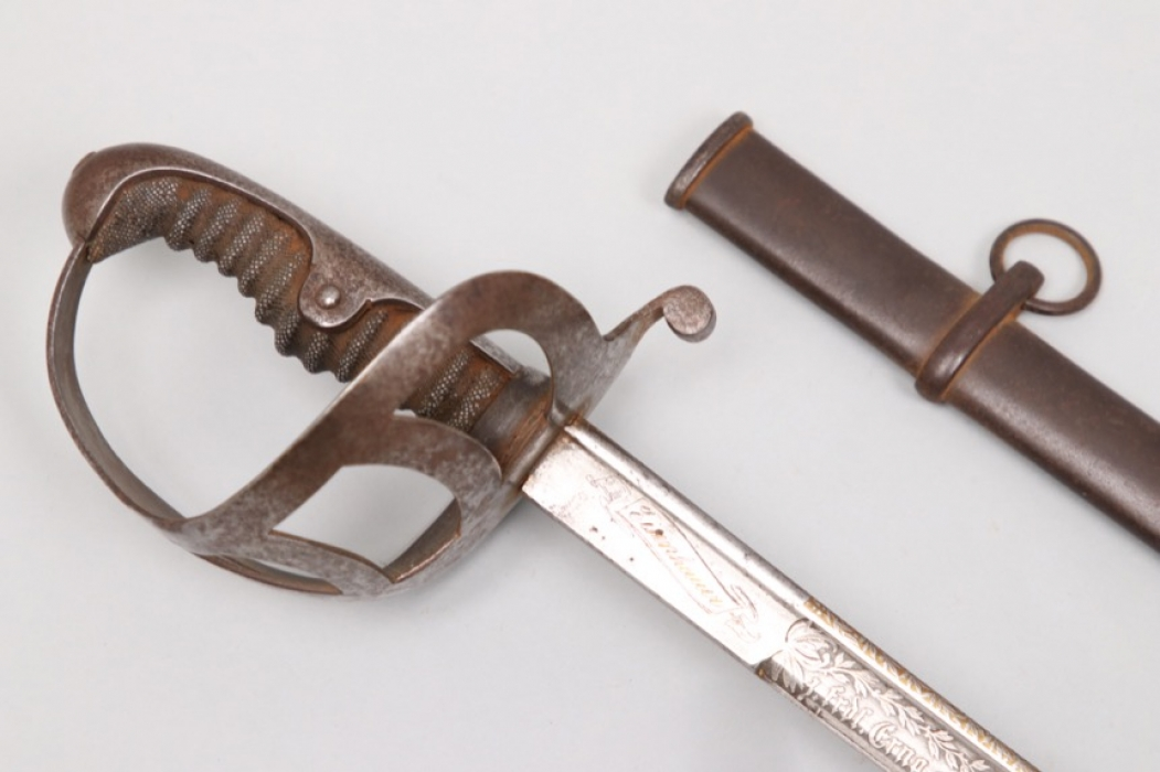 Hesse - M1852 damascus officer's cavalry sabre