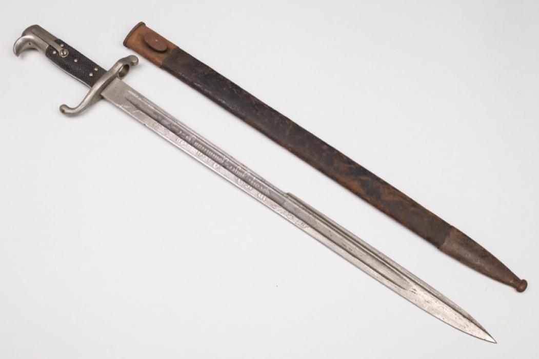 "Prussia - ""Hirschfänger"" M71 with etched blade - WKC"