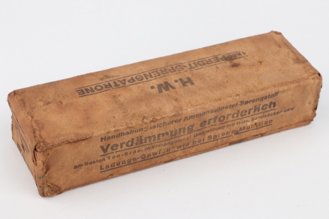 """Imperial Germany - package for """"1 Kilo Perdit - Sprengpatrone"""""""