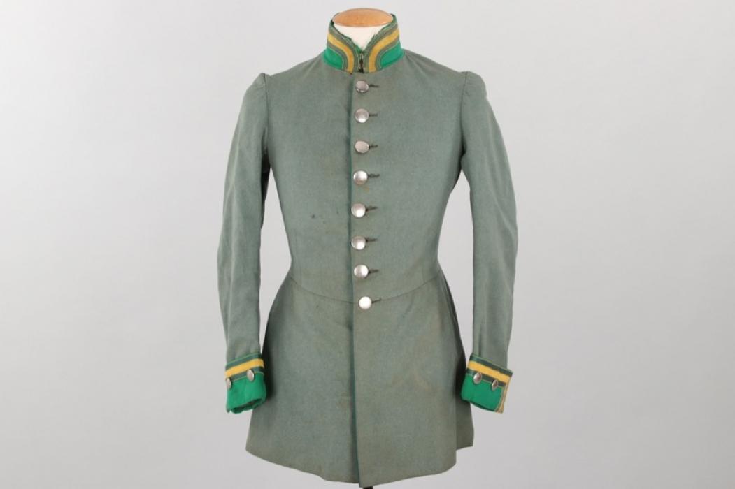 Prussia - Regiment Jäger zu Pferde Nr.3 tunic - EM
