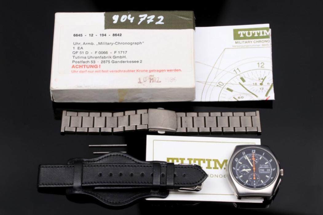Tutima - Bundeswehr Chronograph incl. original box and papers