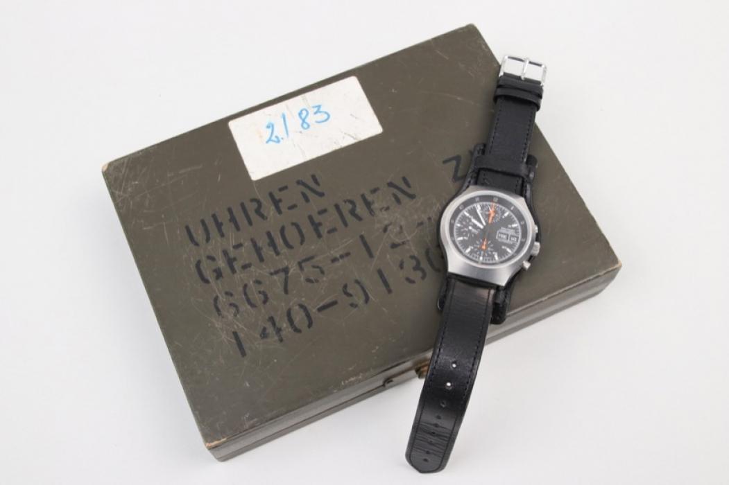 Tengler - Bundeswehr observation chronograph & original case