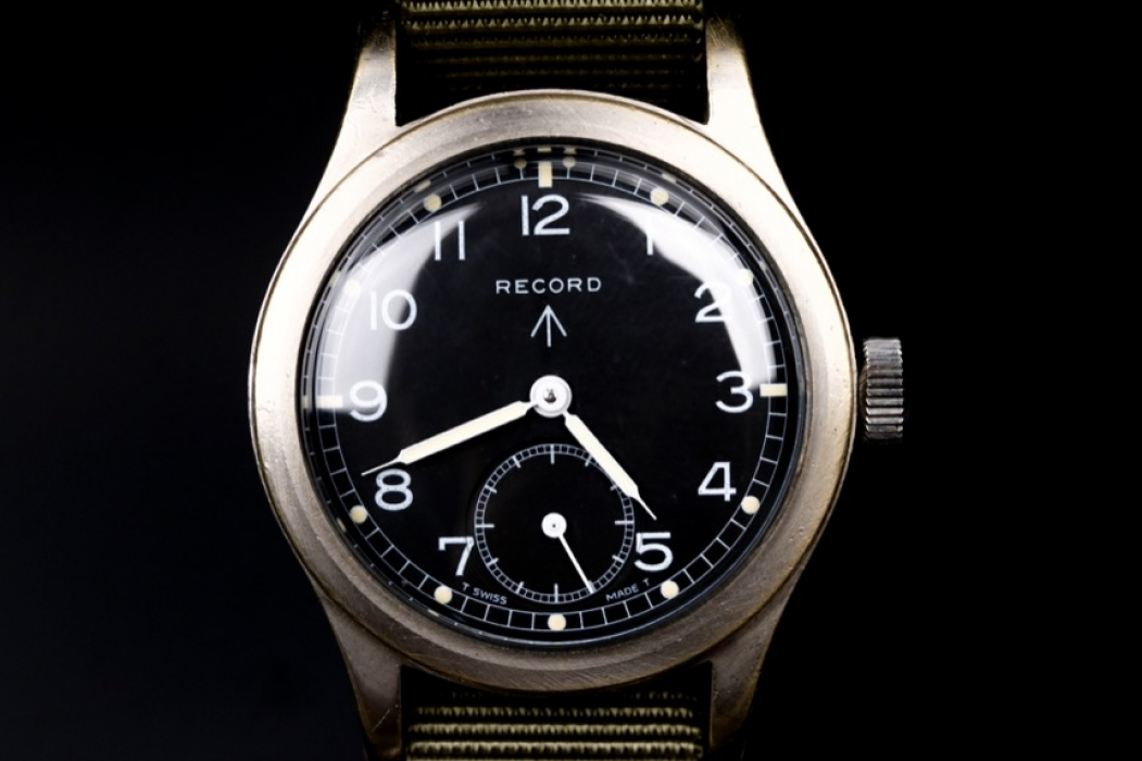 Record - Military men's wristwatch (Great Britain)