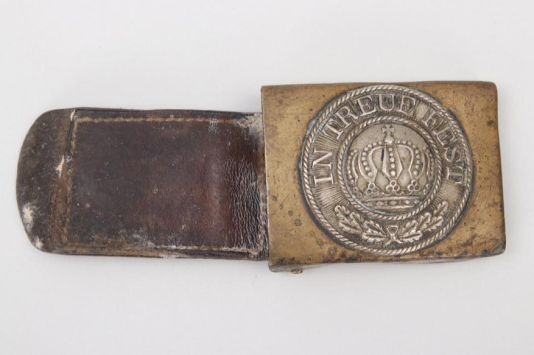 Bavaria - EM/NCO buckle with tab