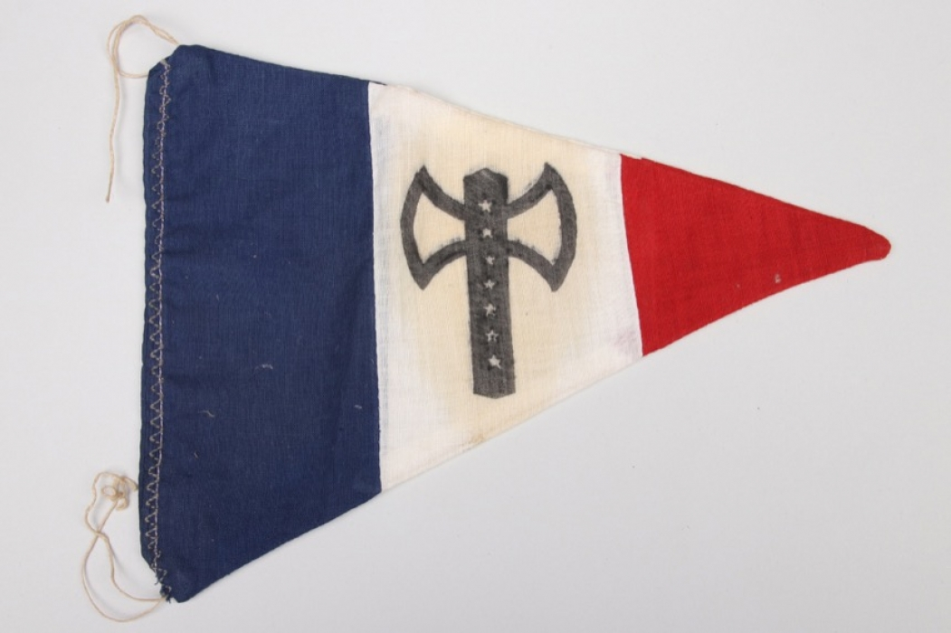 "France - ""Régime de Vichy"" pennant"