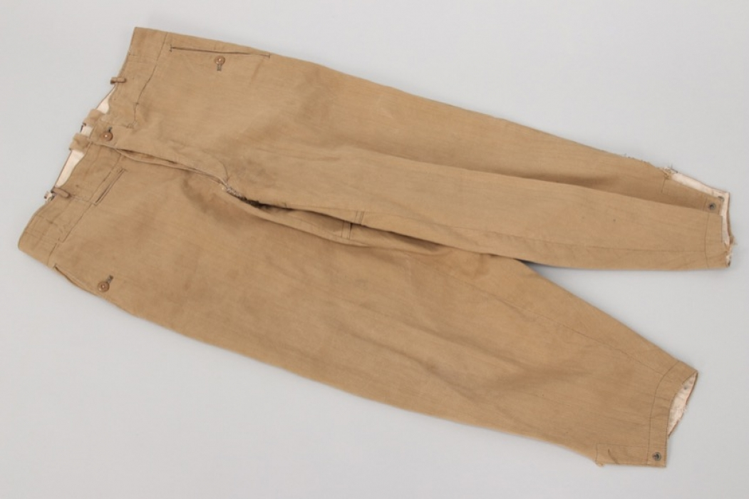 Waffen-SS tropical trousers