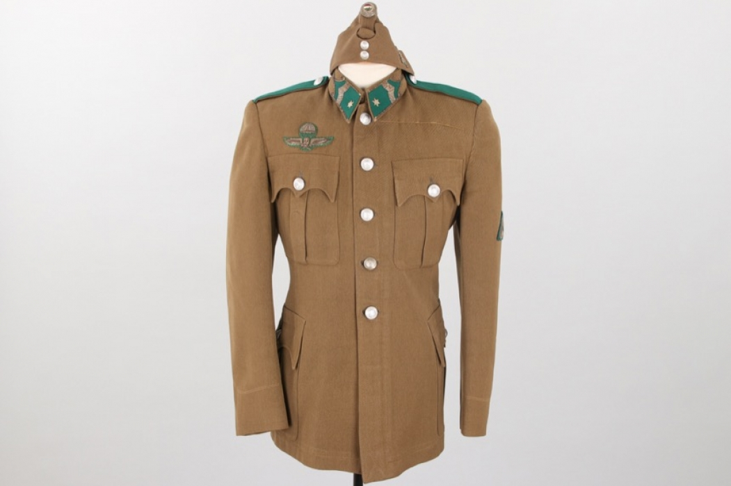 Hungaria - WWII paratrooper's tunic & sidecap