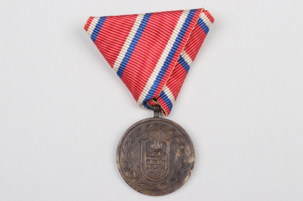 Croatia - 1918-1943 Independence Medal