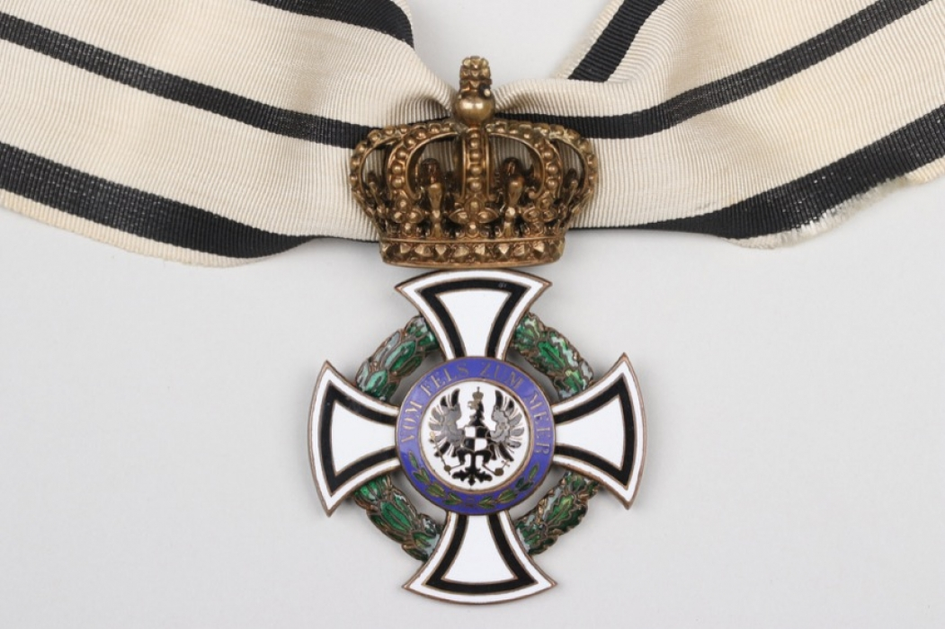 Prussia - House Order of Hohenzollern, Commander's Cross