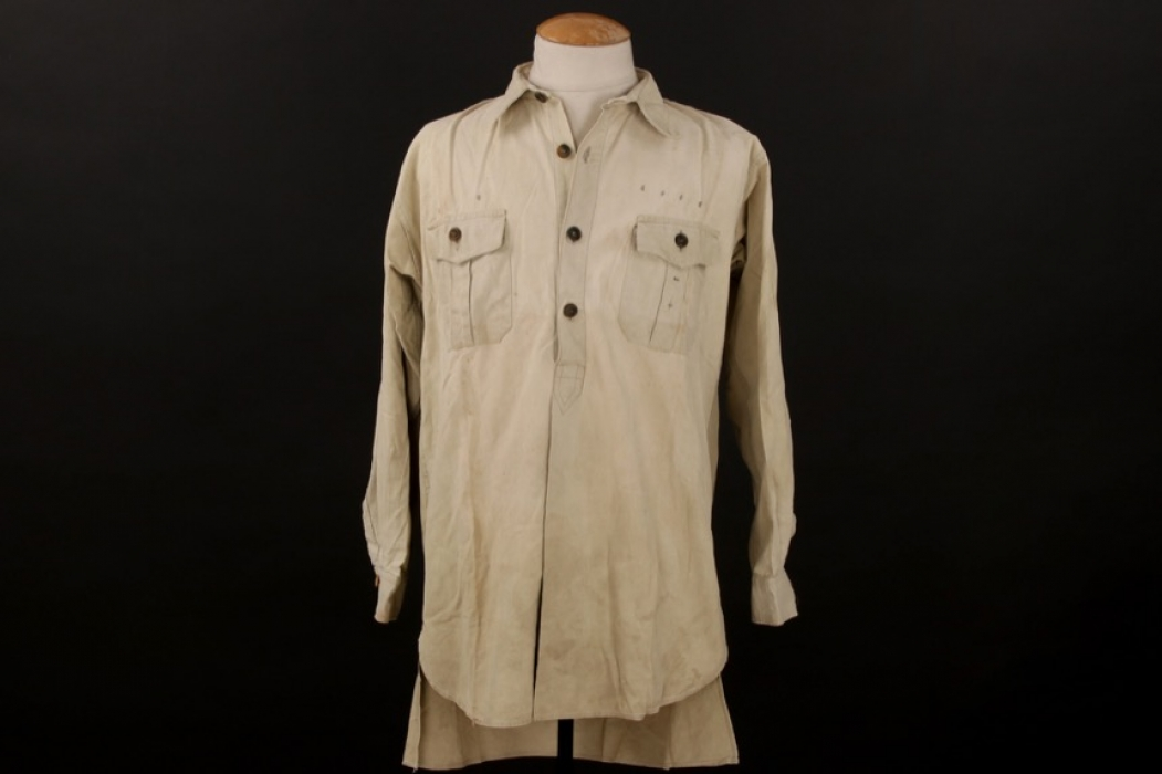 Luftwaffe tropical service shirt - sun bleached