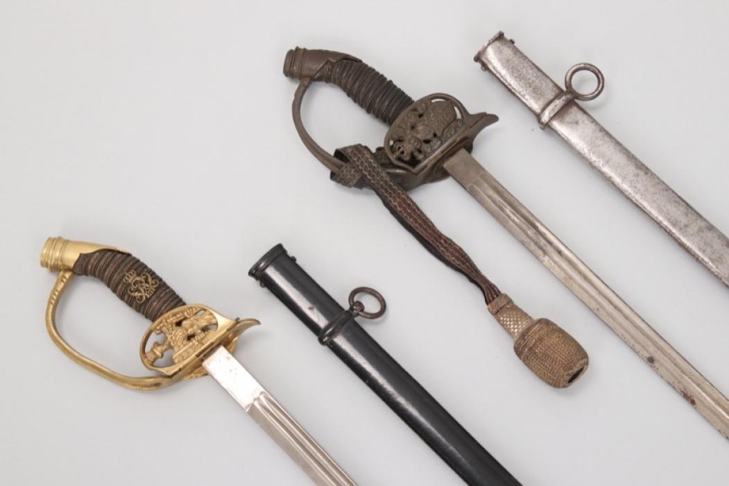 Württemberg & Prussia - infantry officer's sword IDO 89