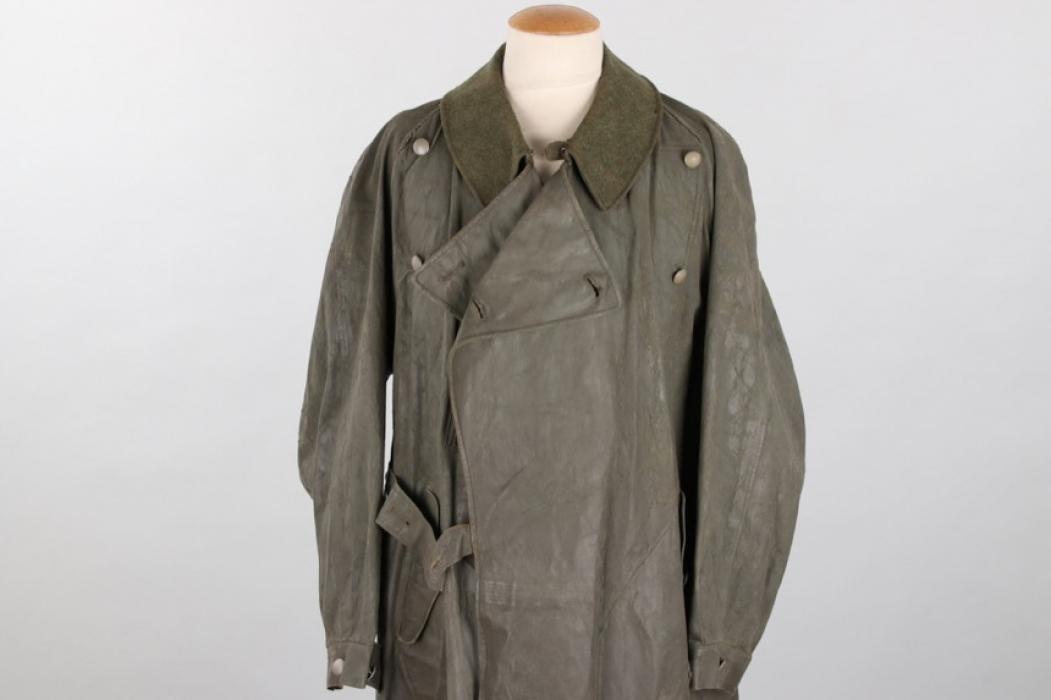 Wehrmacht motorcyclist's coat - Klepper & Stich