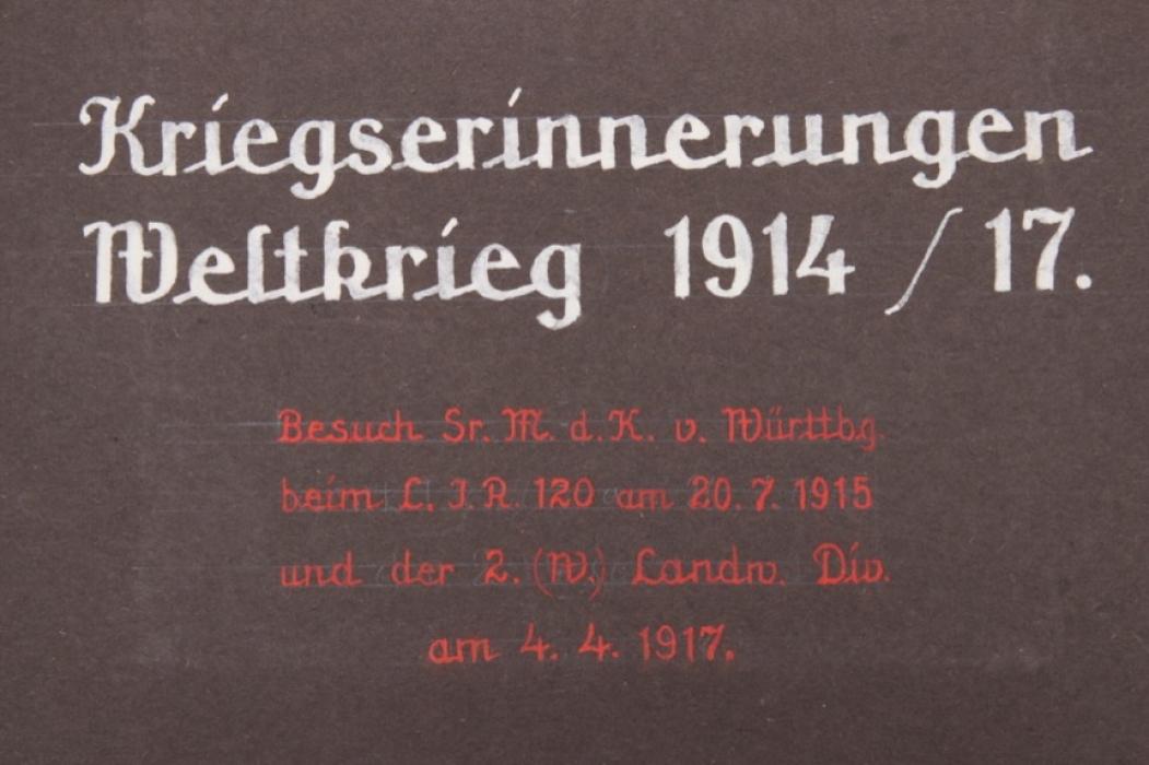 Imperial Germany - 2. (W.) Landw.Div photoalbum