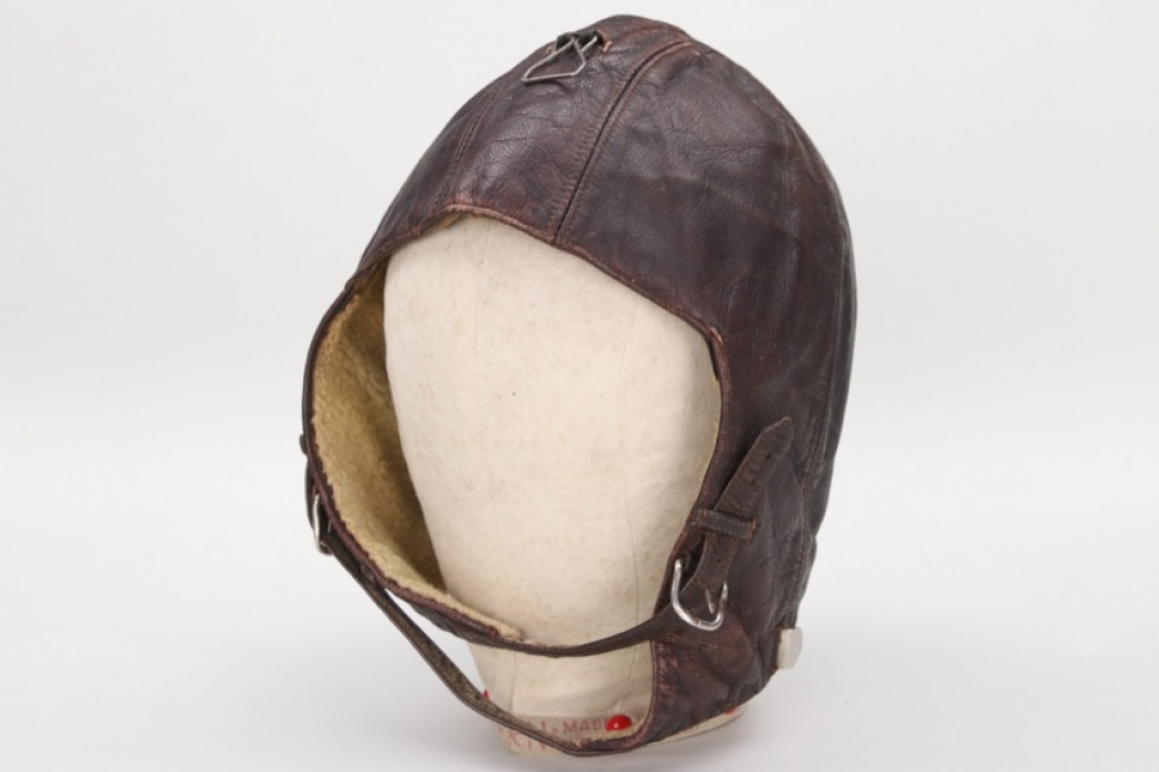 Luftwaffe leather flight helmet