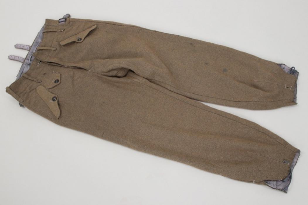 Luftwaffe paratrooper trousers - late war