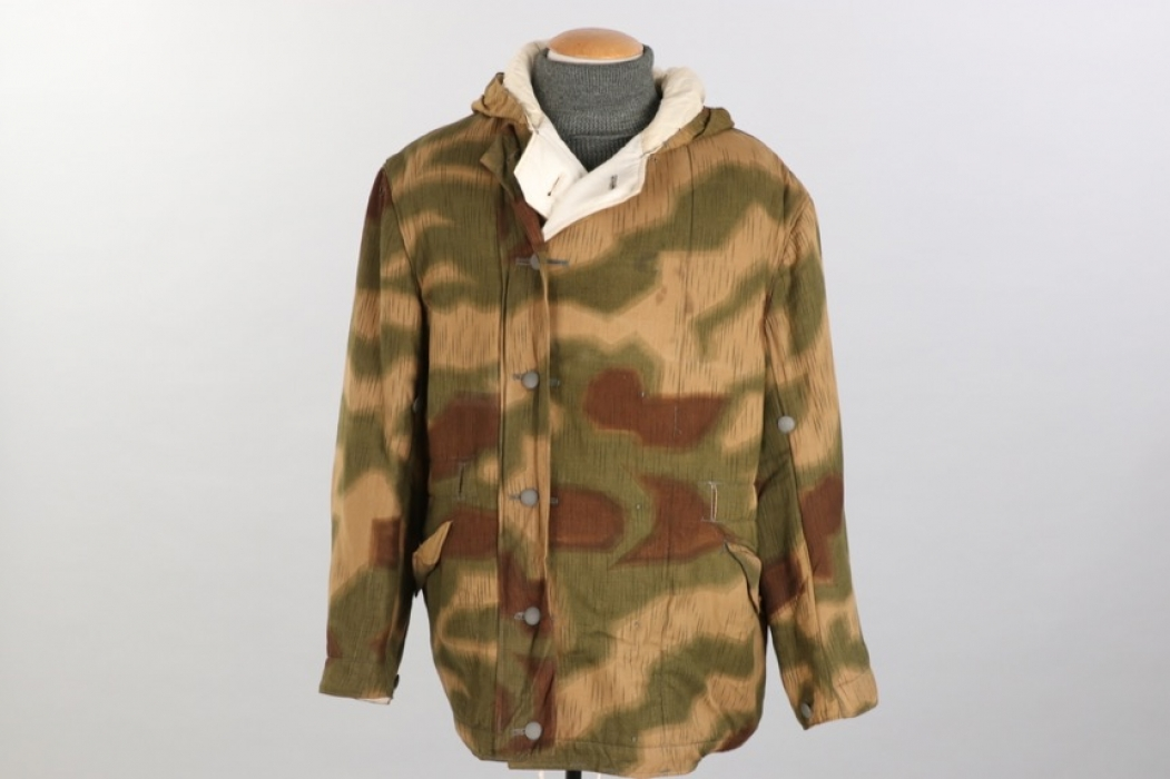Wehrmacht tan & water reversible winter parka - Rb-numbered