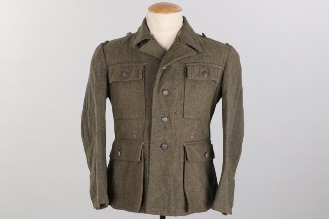"""Waffen-SS M43 """"2-hole"""" field tunic"""