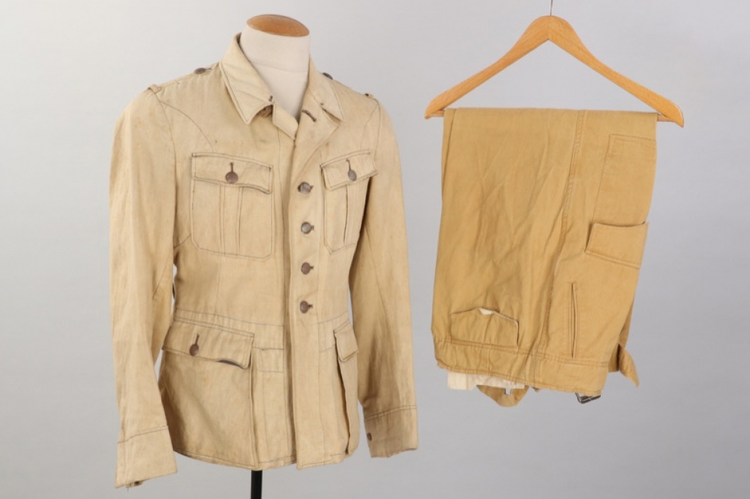 Luftwaffe tropical field tunic + replica trousers
