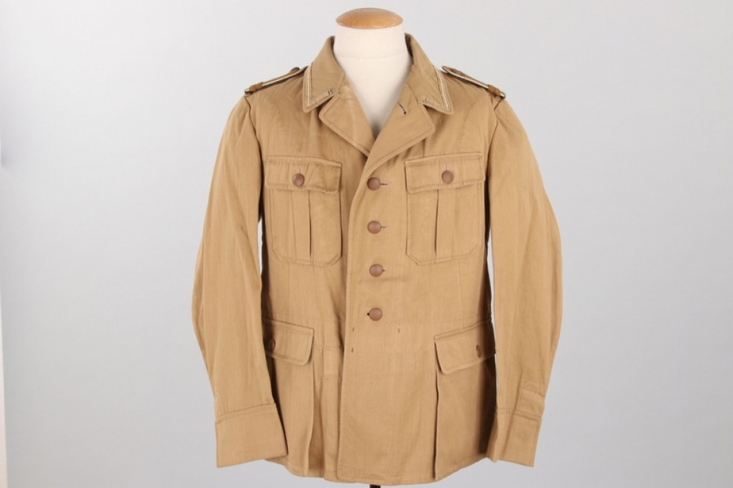 Luftwaffe tropical field tunic + Heer Infanterie shoulder boards