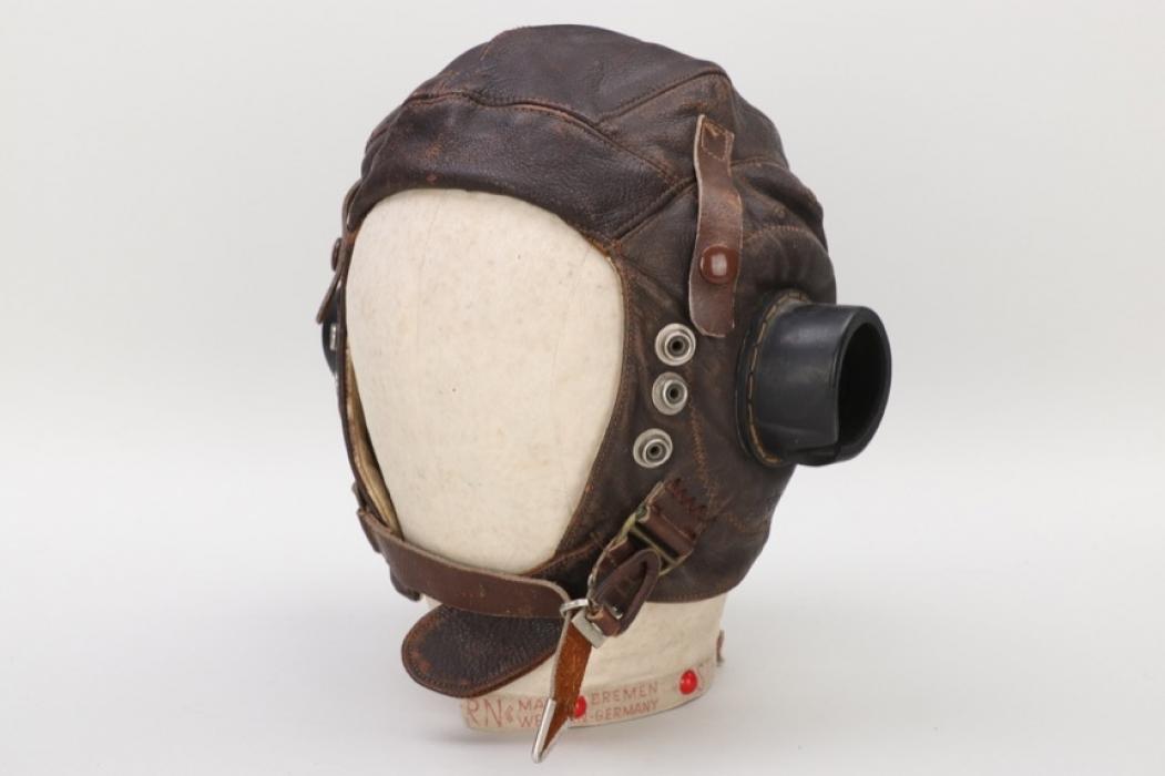 "Great Britain - type""C"" leather flight helmet"