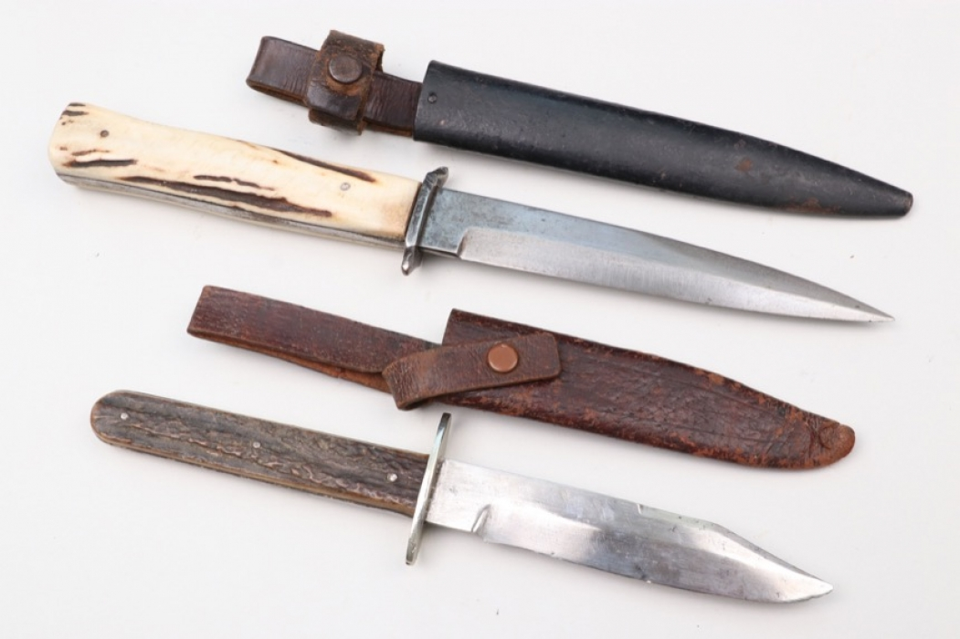 WWI two German trench knives