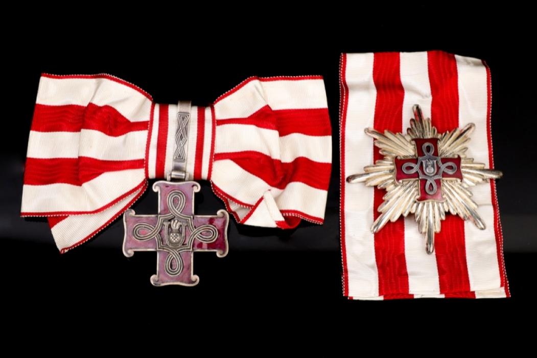 Croatia - WWII Order of Merit for Christians - Grand Cross