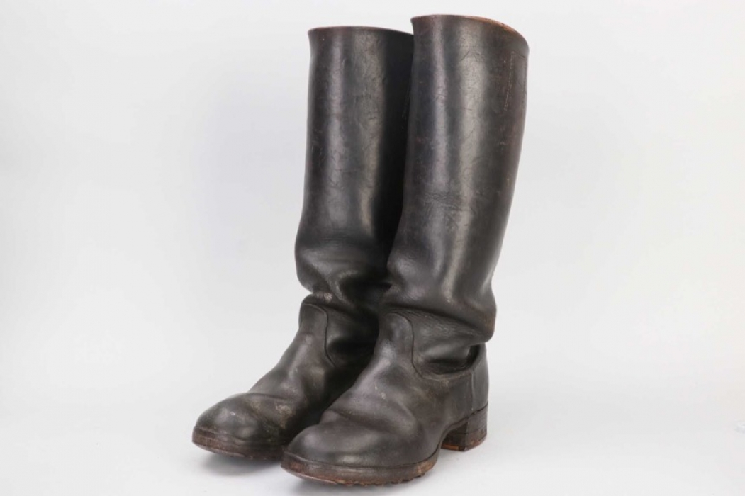 Heer EM/NCO Kavallerie boots - RB-numbered